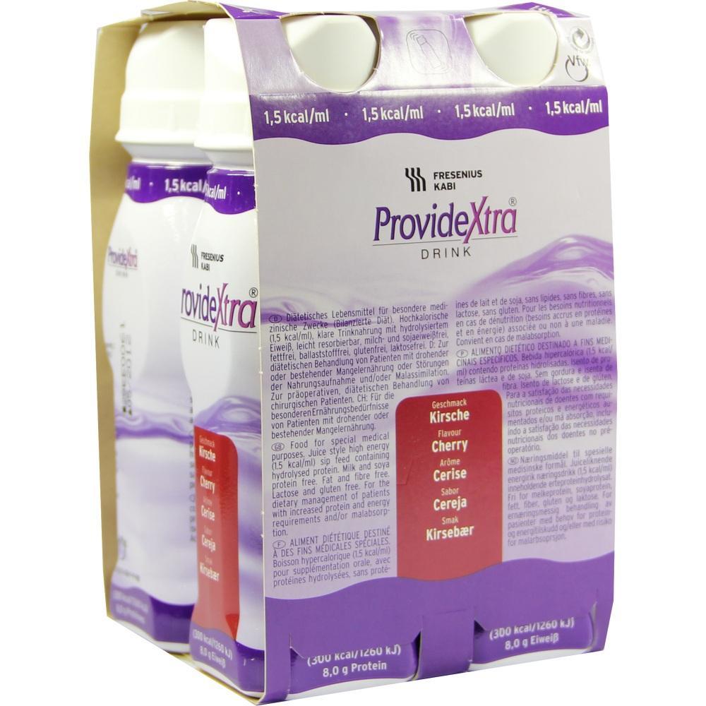 00089141, ProvideXtra DRINK Kirsche Trinkflasche, 4X200 ML