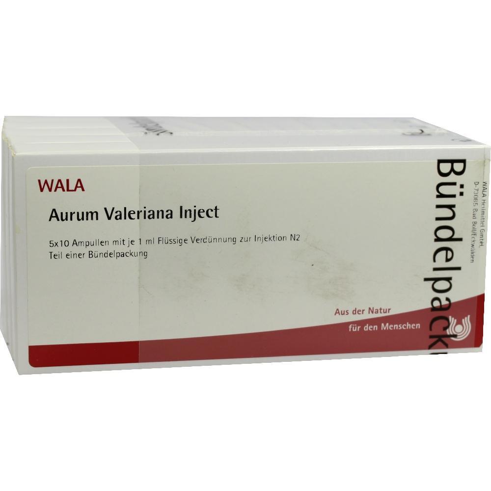 00089342, Aurum Valeriana Inject, 50X1 ML