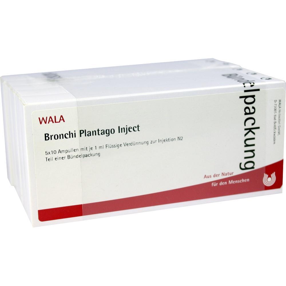 00089690, Bronchi Plantago Inject, 50X1 ML
