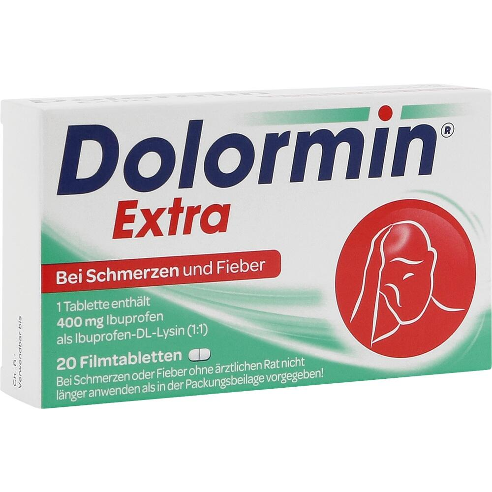 00091089, Dolormin extra, 20 ST