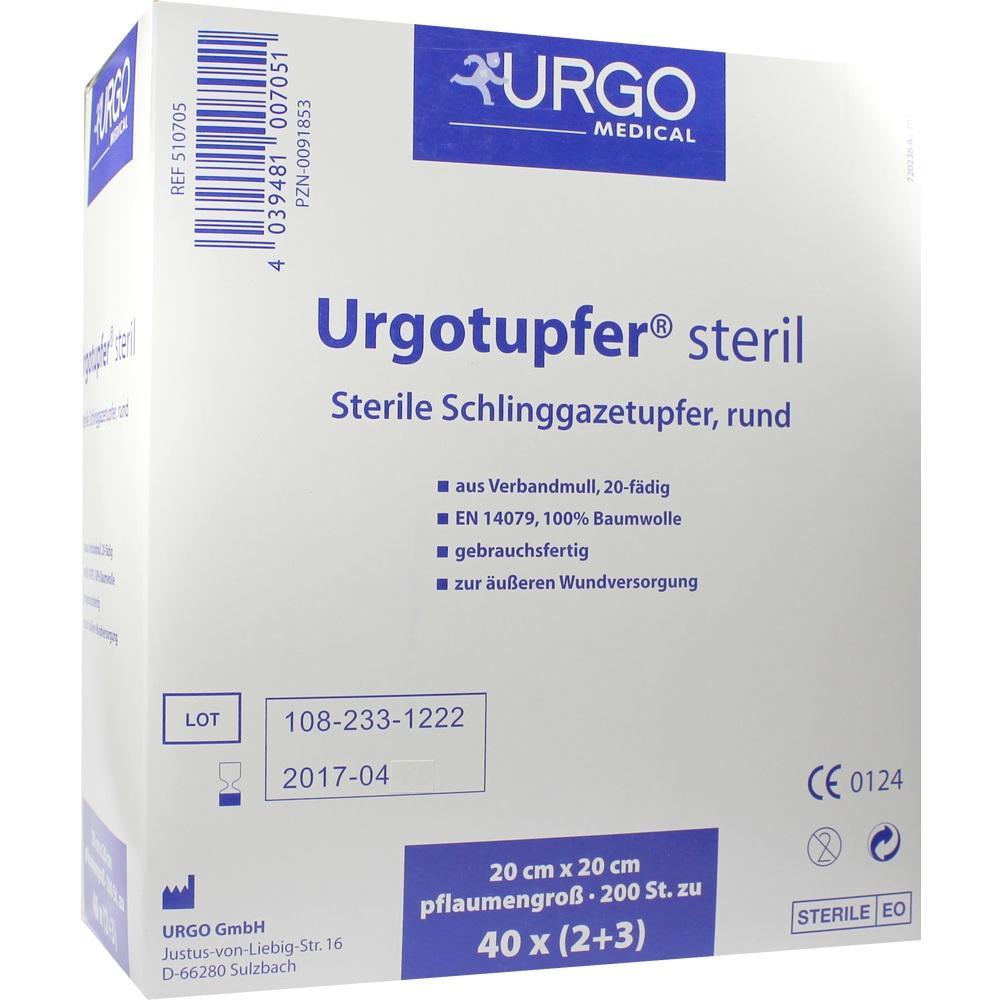 00091853, Urgotupfer pflaumengroß steril (2+3), 200 ST
