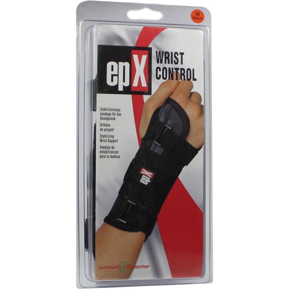 00099375, epX Wrist Control Handgelenkorthese Gr. M rechts, 1 ST