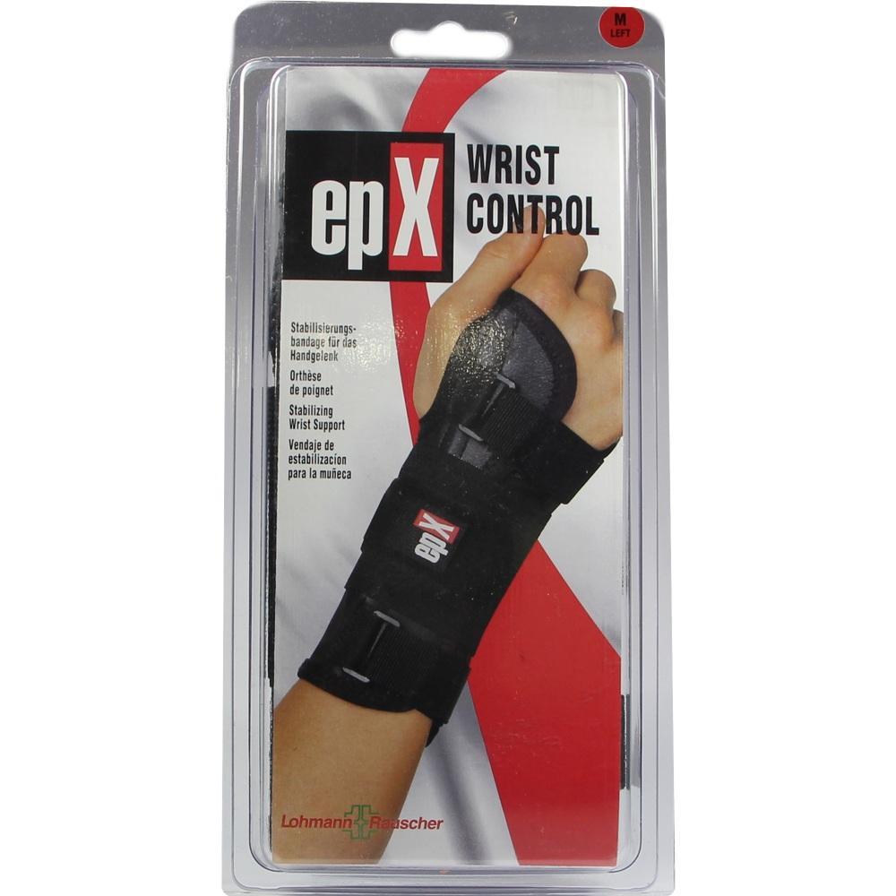 00099381, epX Wrist Control Handgelenkorthese Gr. M links, 1 ST
