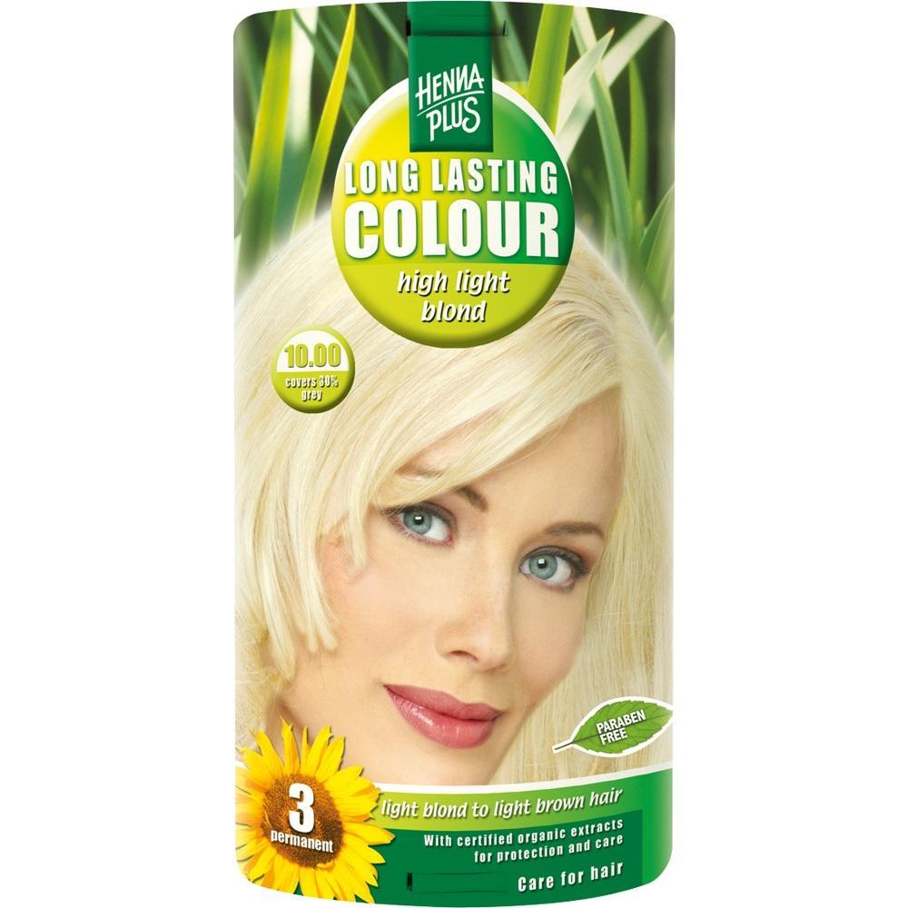 00099599, Hennaplus Long Lasting High Light Blond 10.0, 100 ML