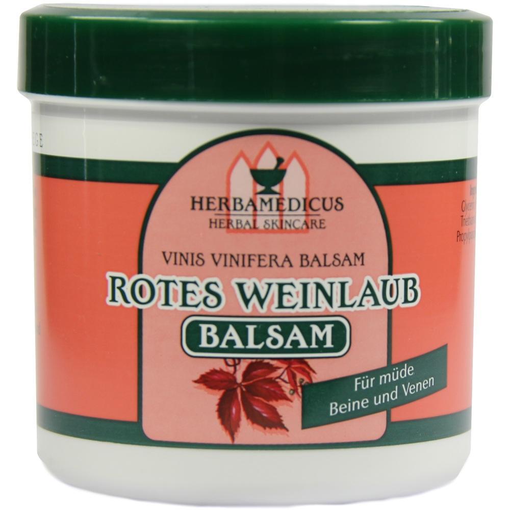 00100084, Rotes Weinlaub Balsam Herbamedicus, 250 ML