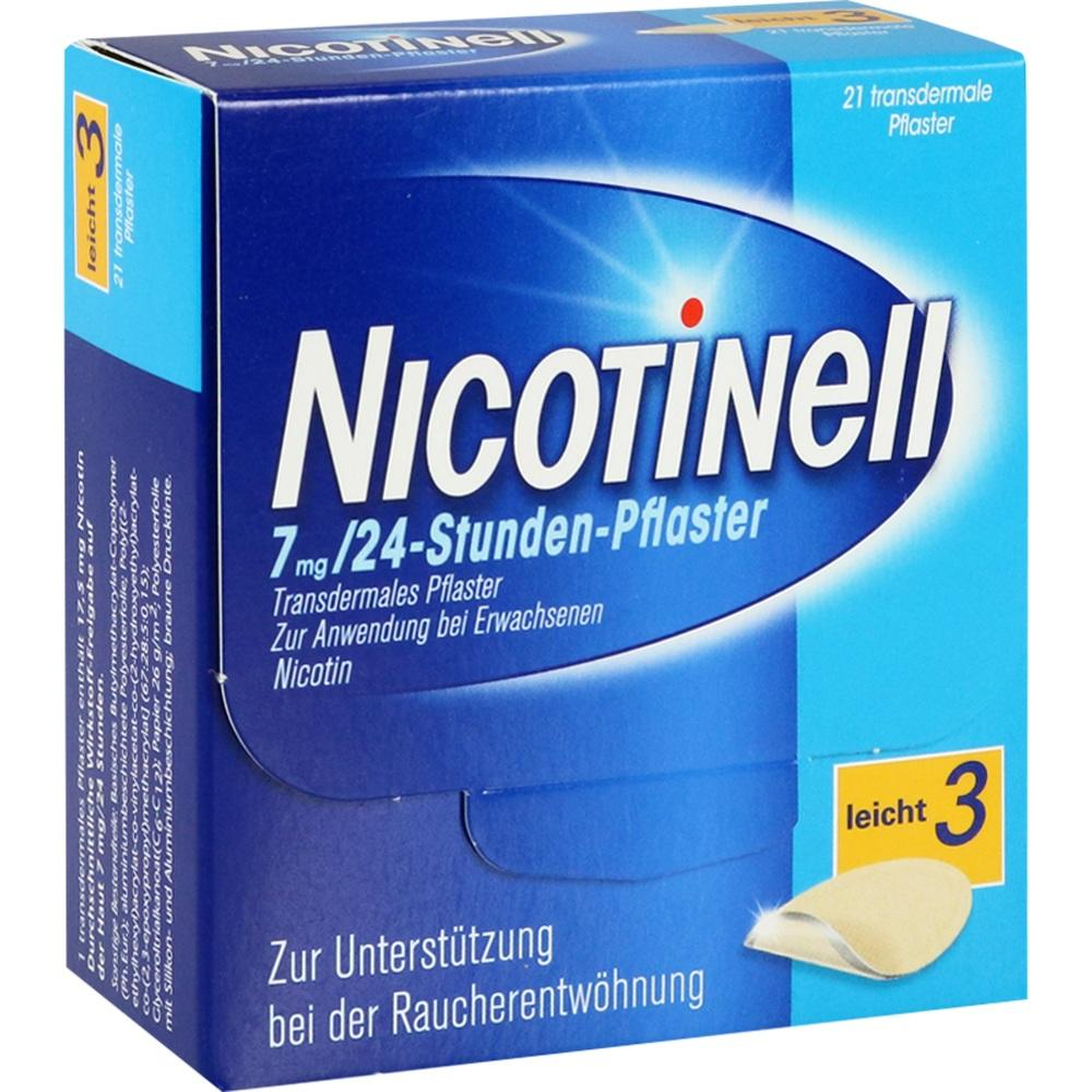 00110065, Nicotinell 7 mg / 24-Stunden-Pflaster, 21 ST