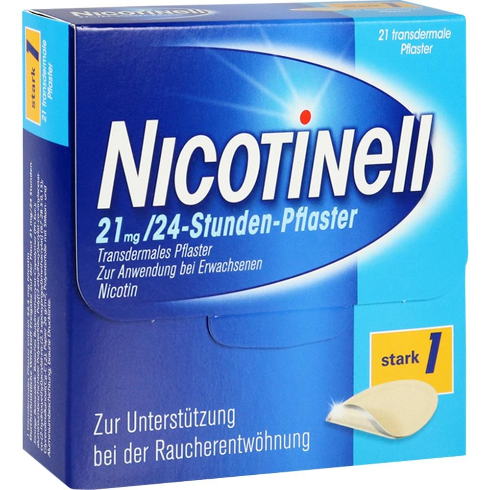 00110088, Nicotinell 21 mg / 24-Stunden-Pflaster, 21 ST