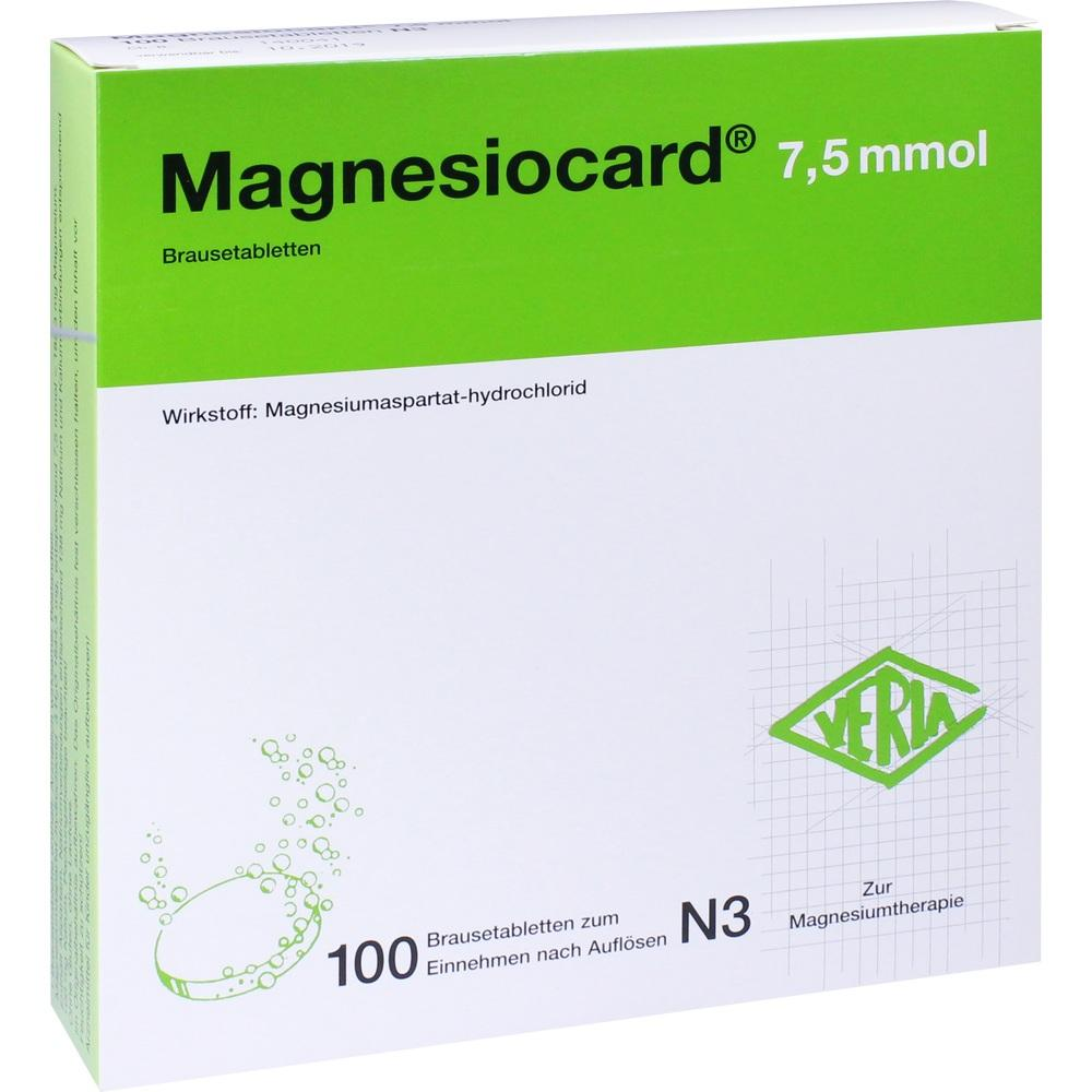 00110303, Magnesiocard 7.5 mmol, 100 ST