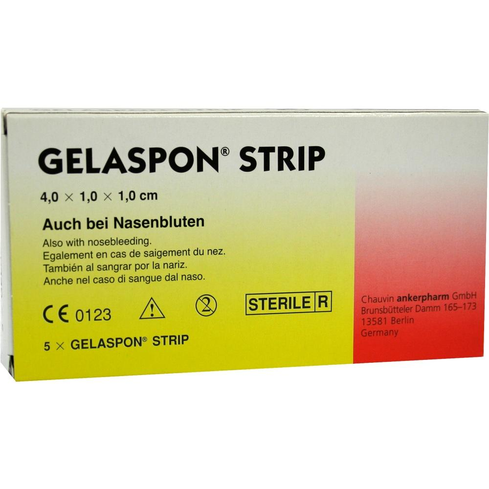 00116211, Gelaspon Strip 4x1x1cm, 5 ST