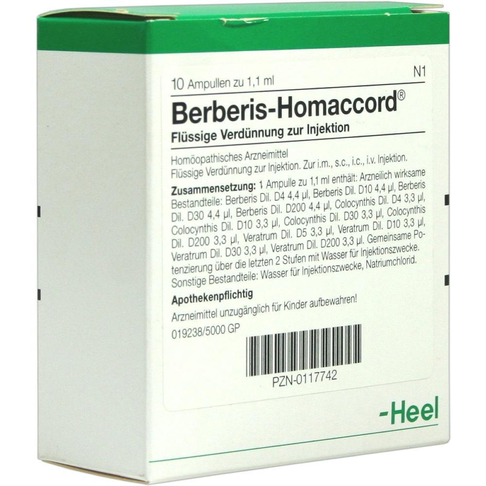 00117742, BERBERIS HOMACCORD, 10 ST