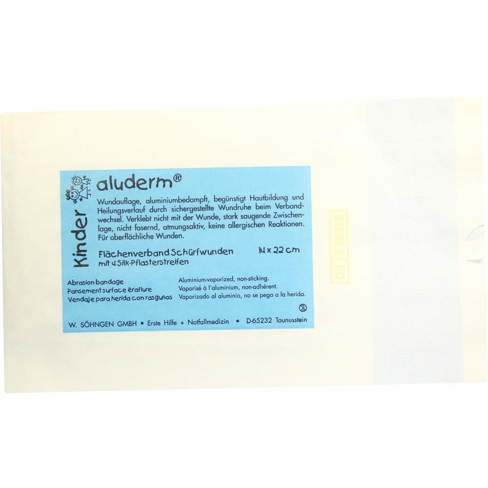 W. SÖHNGEN GmbH ALUDERM Kinder Flächenverb.Schürfwunden 00118718