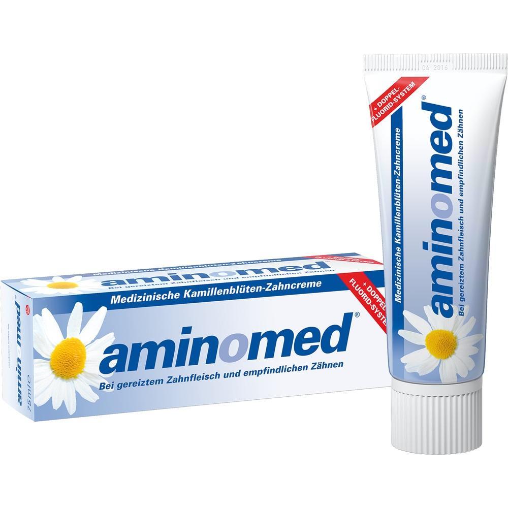 00122878, amin-o-med Fluorid Kamillen Zahncreme, 75 ML