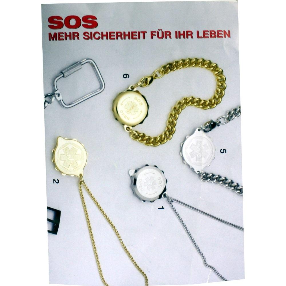 Gero GmbH SOS ANHÄNGER m.Notfallausweis 00165037