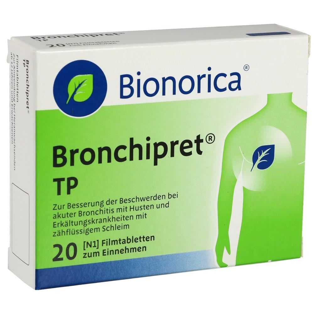 00168478, BRONCHIPRET TP, 20 ST