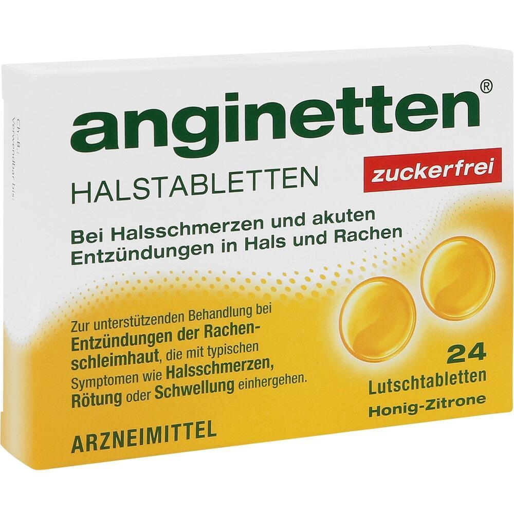 00188110, anginetten Halstabletten zuckerfrei, 24 ST