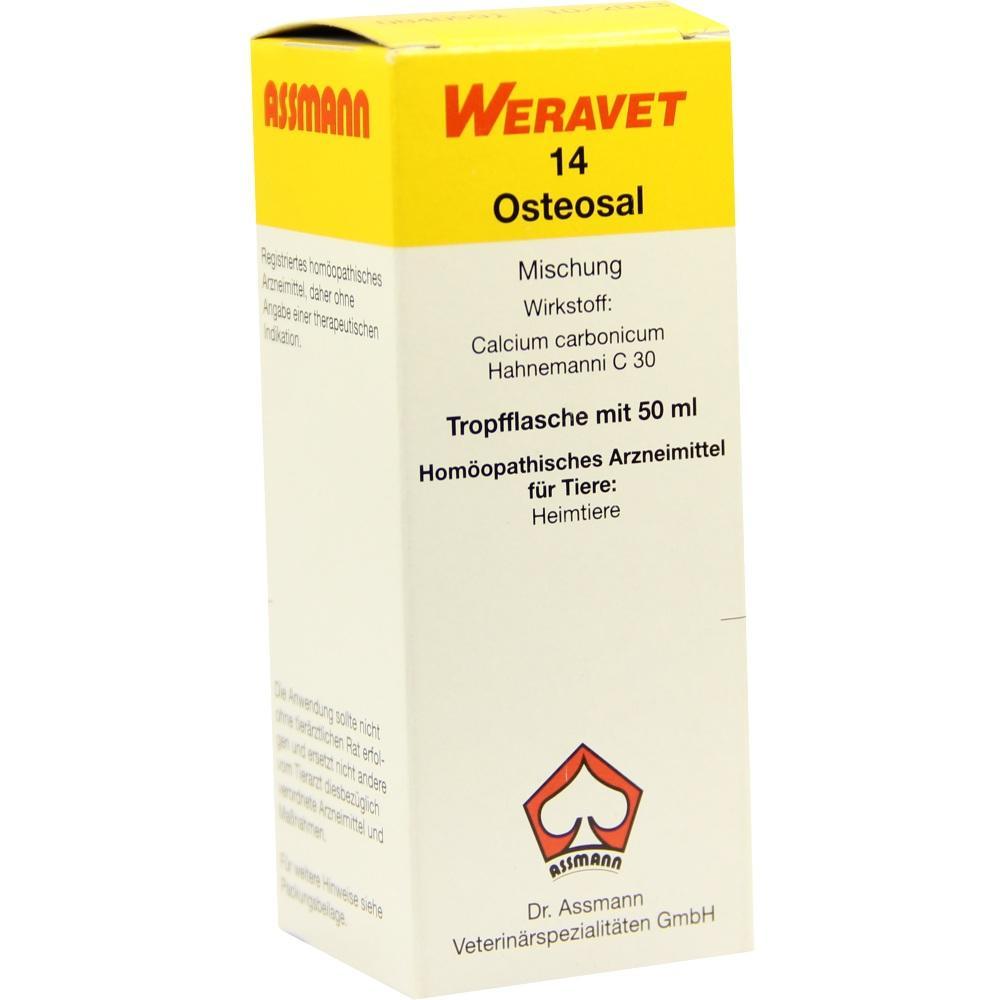 OSTEOSAL 14 Tropfen vet.