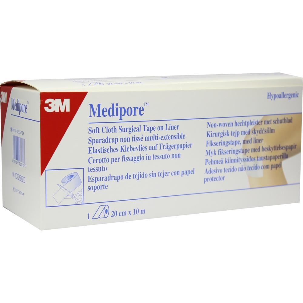 00225733, Medipore hypoallergenes Fixiervlies 20cmx10m, 1 ST