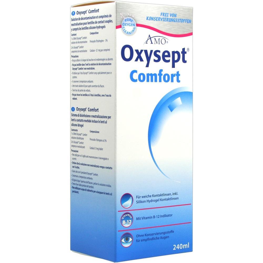 00227844, Oxysept Comfort Vit B12 240ml+24 Tabs, 1 ST