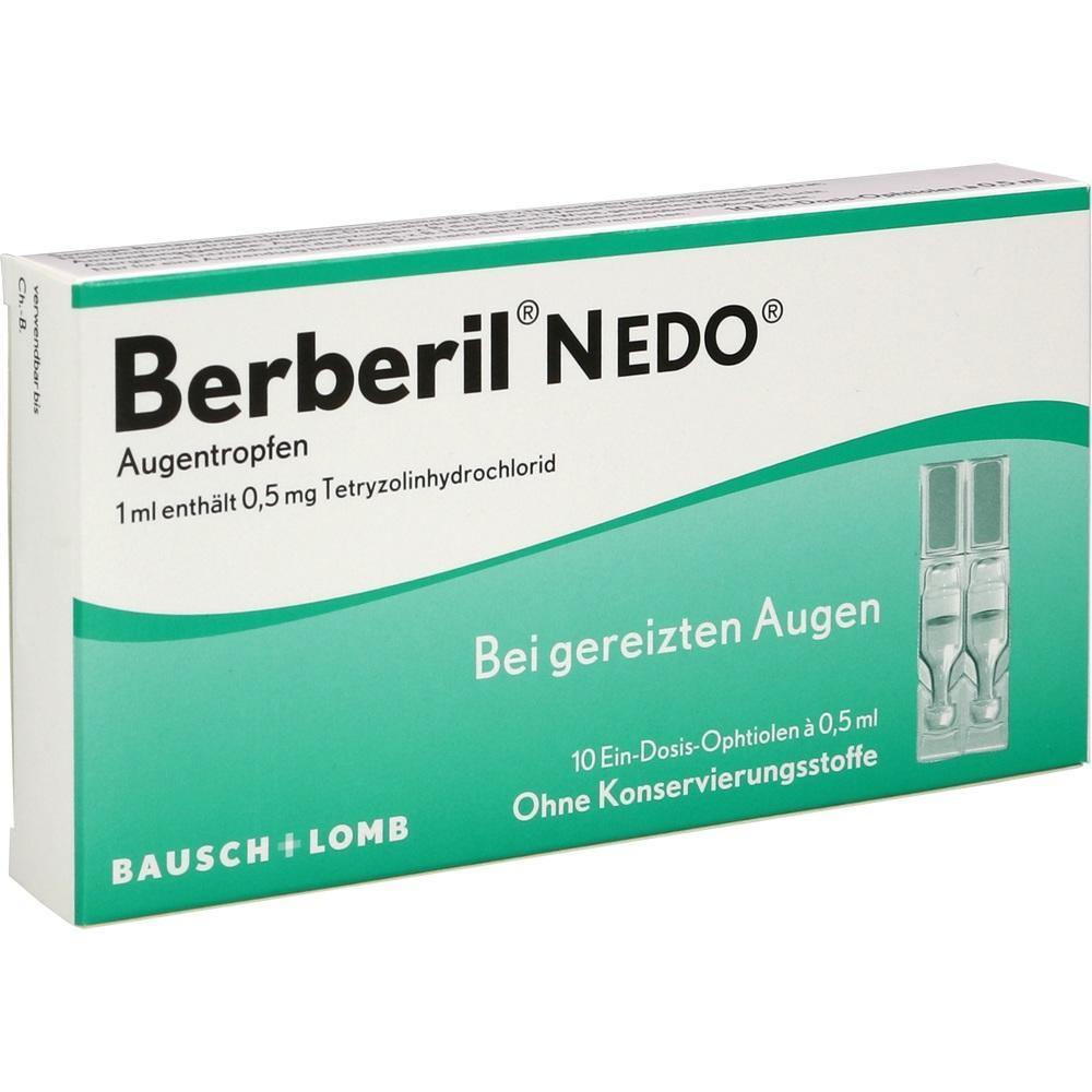 00255510, Berberil N EDO, 10X0.5 ML