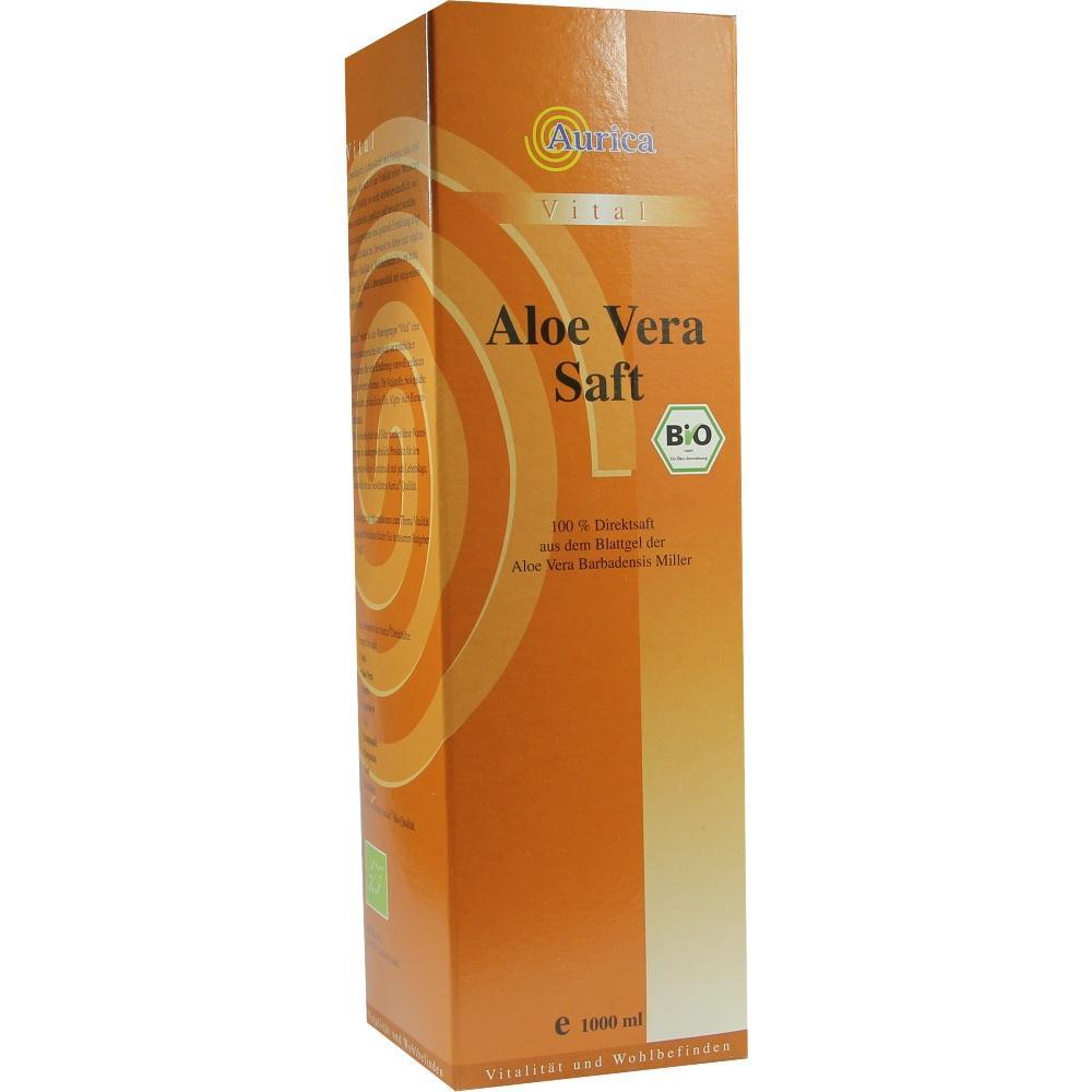 00291227, Aloe Vera Saft Bio 100%, 1000 ML