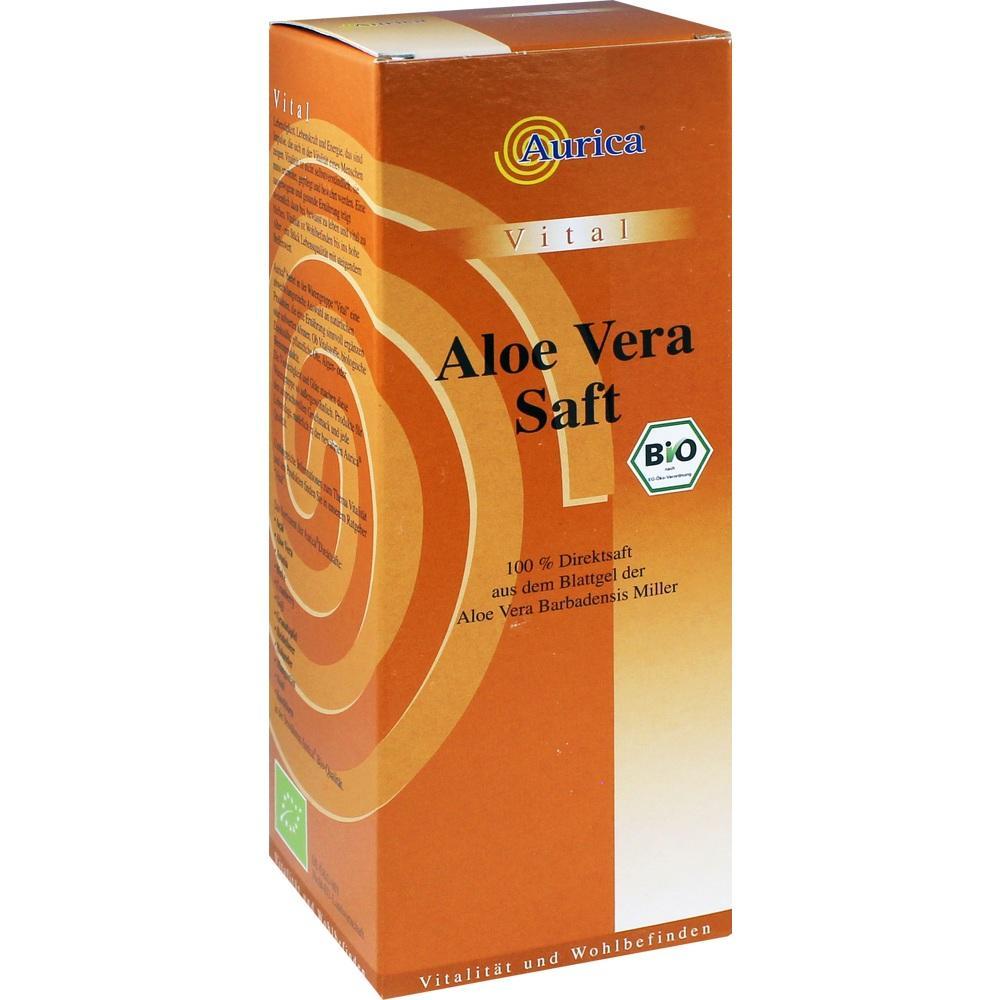 00292184, Aloe Vera Saft Bio 100%, 500 ML