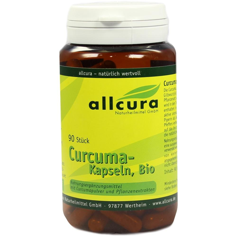 00321543, Curcuma Kapseln Bio, 90 ST