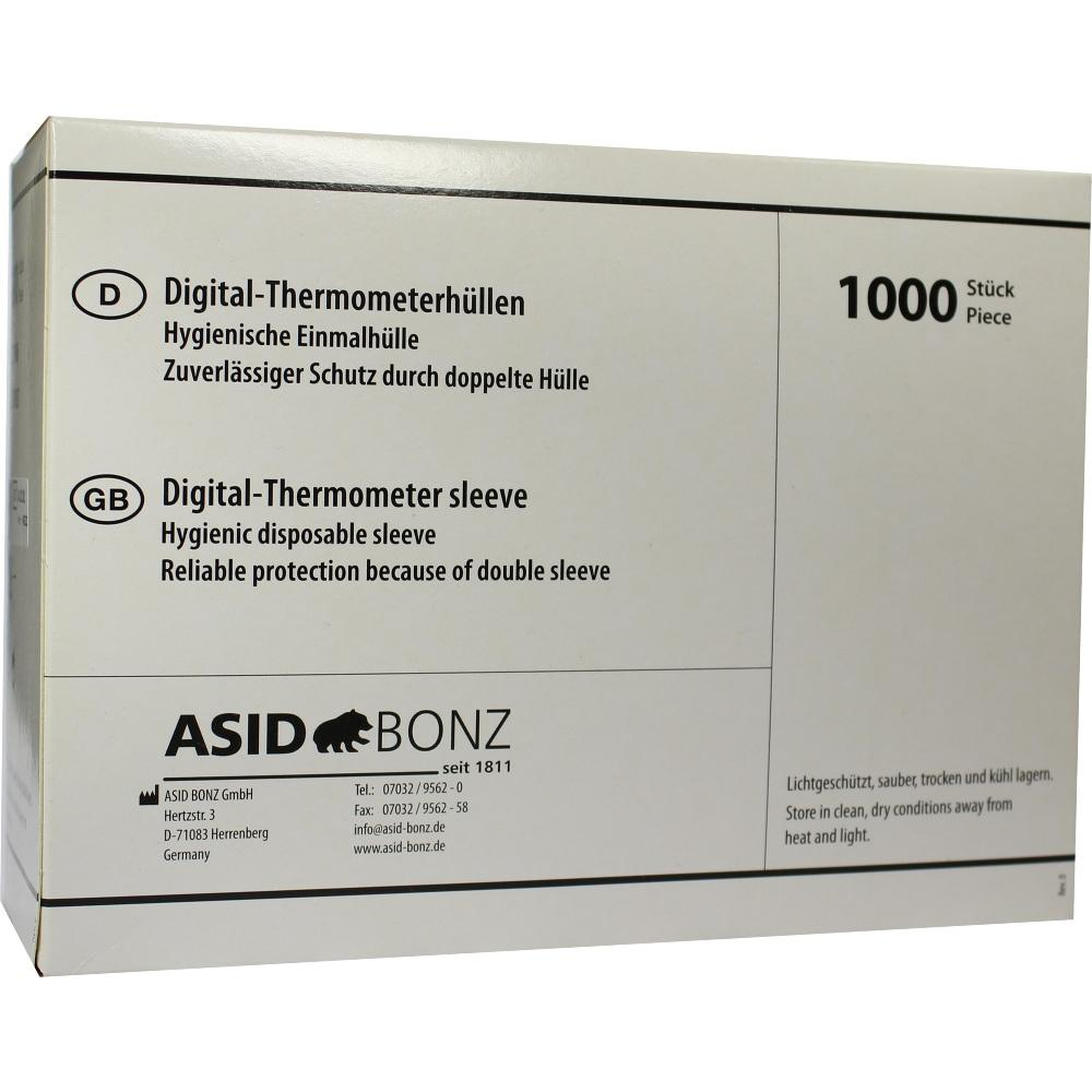 00341037, Thermometer-Einmalhüllen digital ohne Gleitmittel, 1000 ST