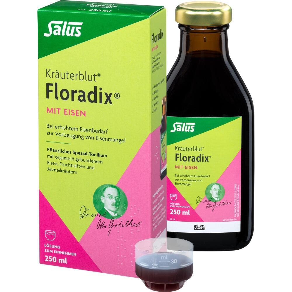 00361784, Floradix mit Eisen, 250 ML
