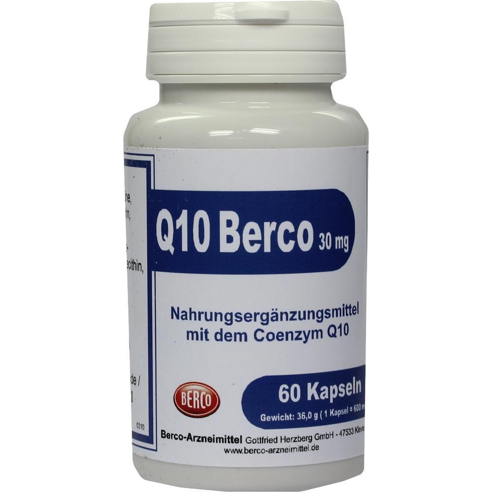 00458414, Q 10 Berco 30mg, 60 ST