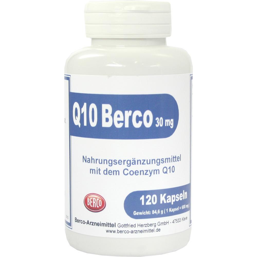00458420, Q 10 Berco 30mg, 120 ST