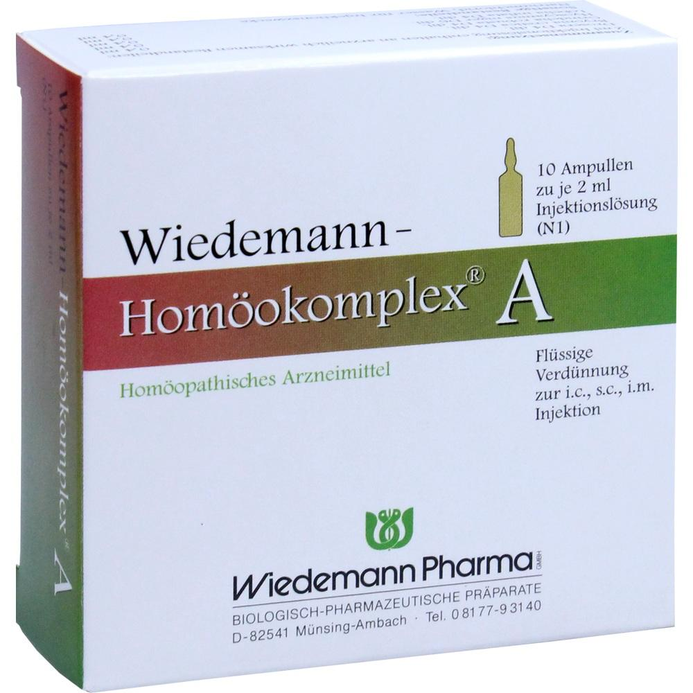 Wiedemann Pharma GmbH WIEDEMANN Homöokomplex A Ampullen 00507207
