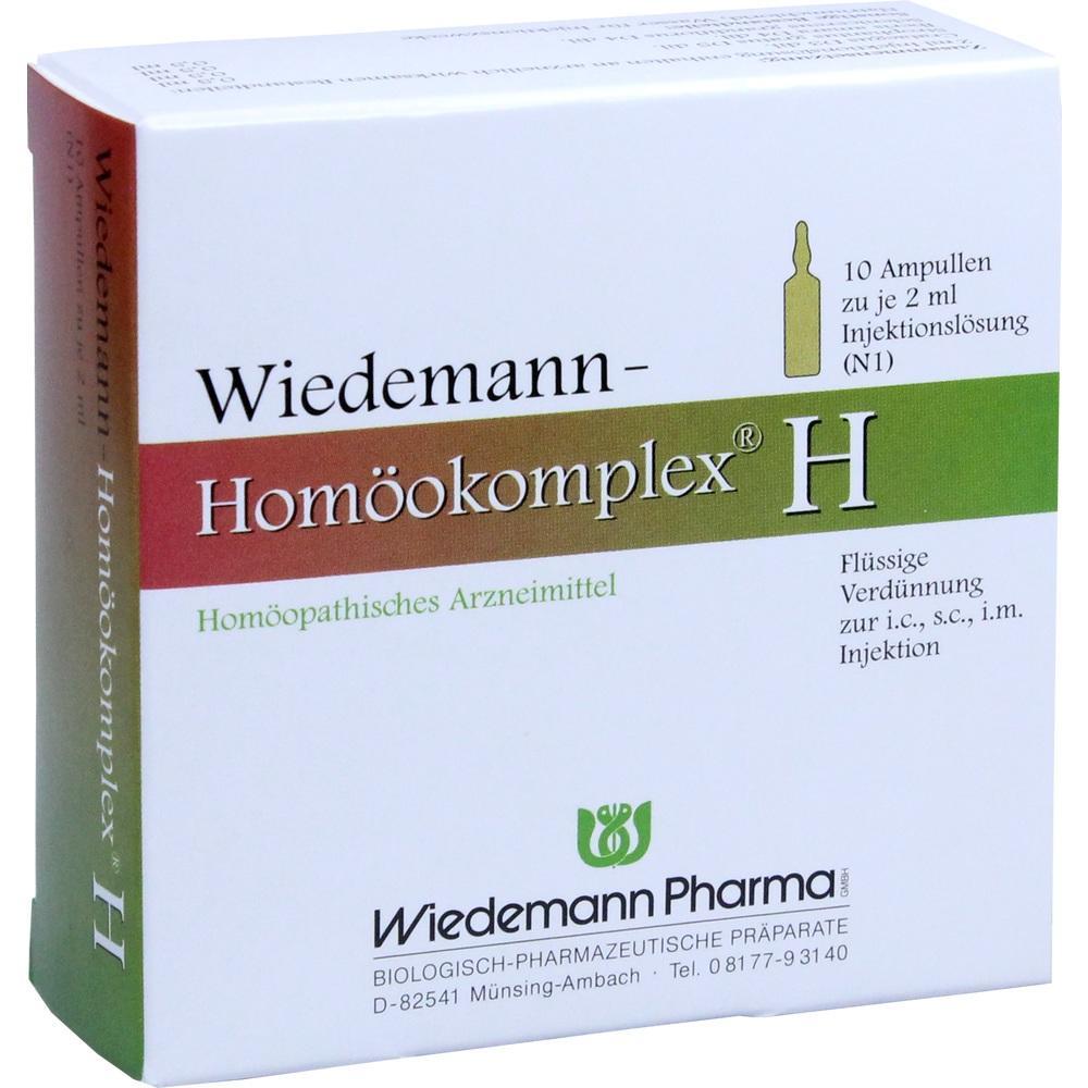 Wiedemann Pharma GmbH WIEDEMANN Homöokomplex H Ampullen 00507242