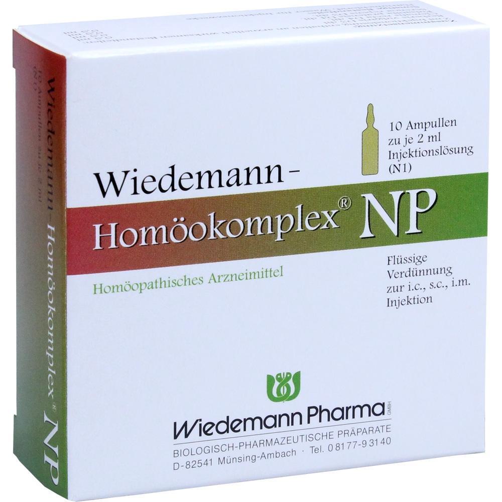 Wiedemann Pharma GmbH WIEDEMANN Homöokomplex NP Ampullen 00507288