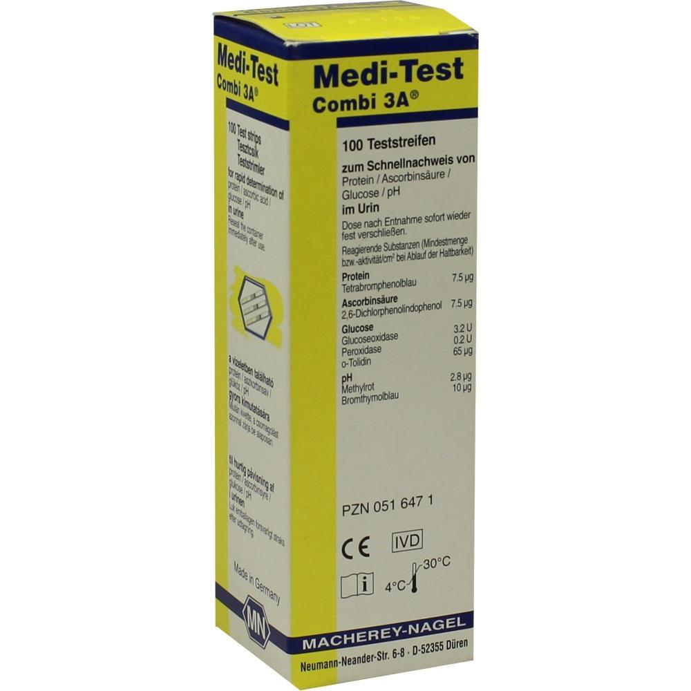 MEDI-TEST Combi 3A Teststreifen