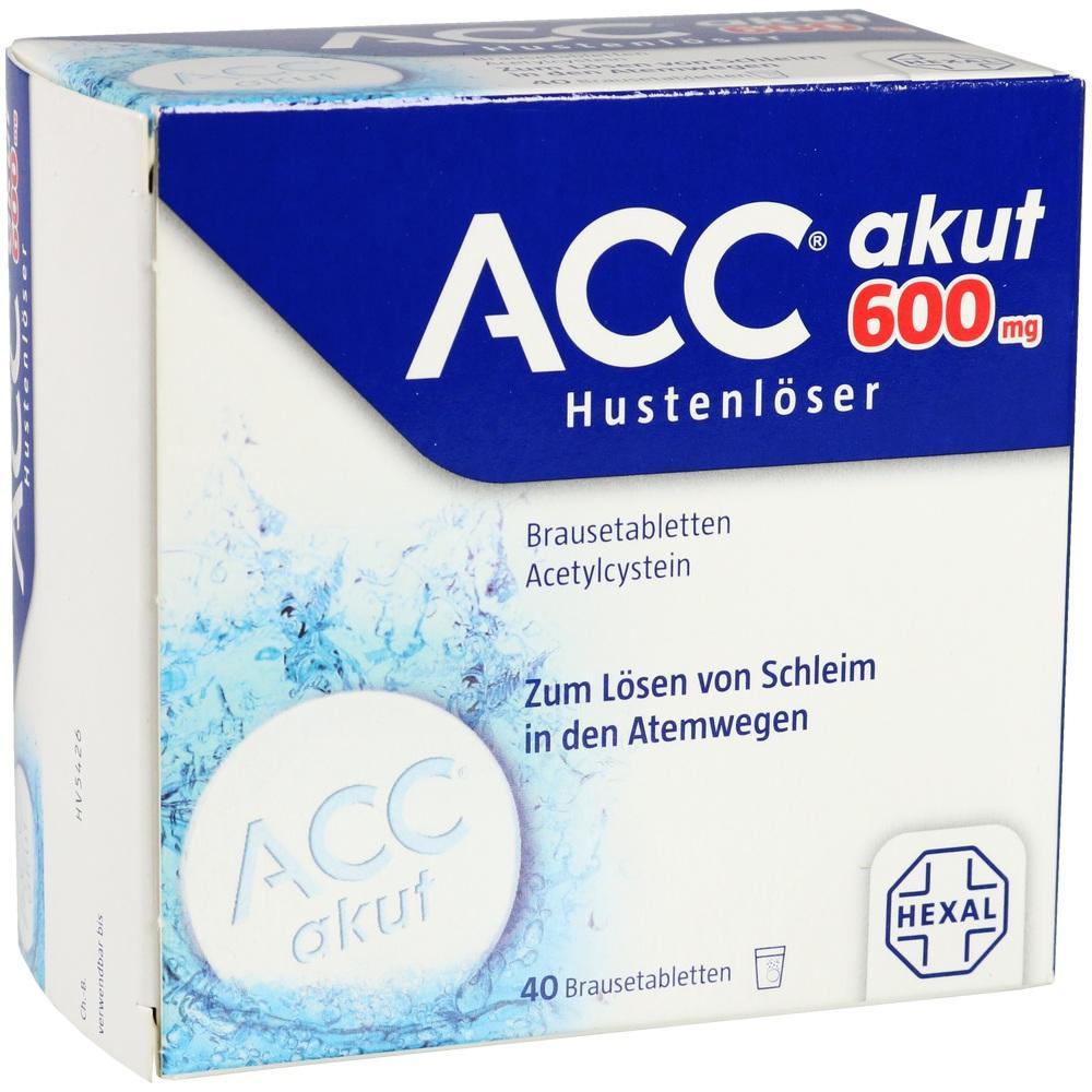 00520917, ACC akut 600 Hustenlöser Brausetabletten, 40 ST