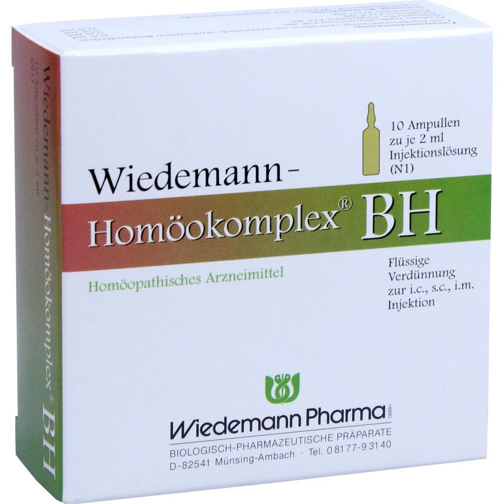 WIEDEMANN Homöokomplex BH Ampullen