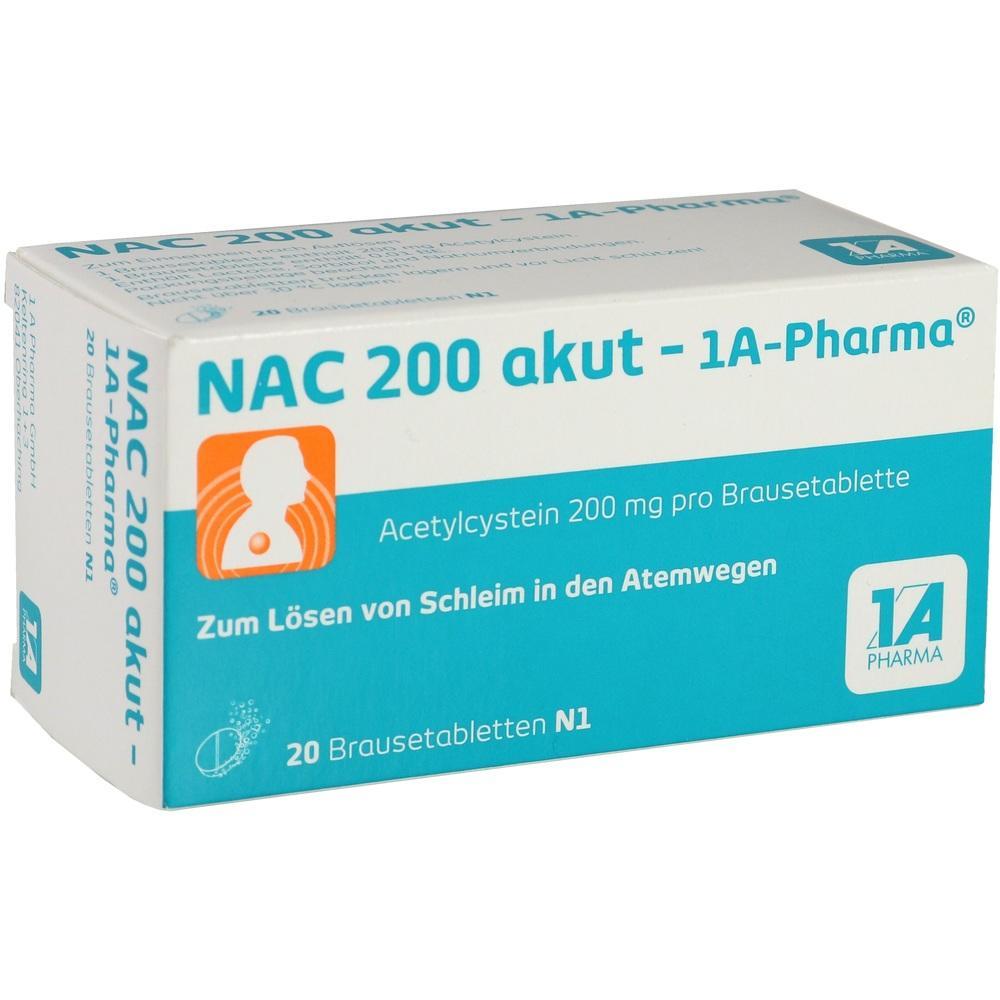 00562726, NAC 200 akut-1A-PHARMA, 20 ST