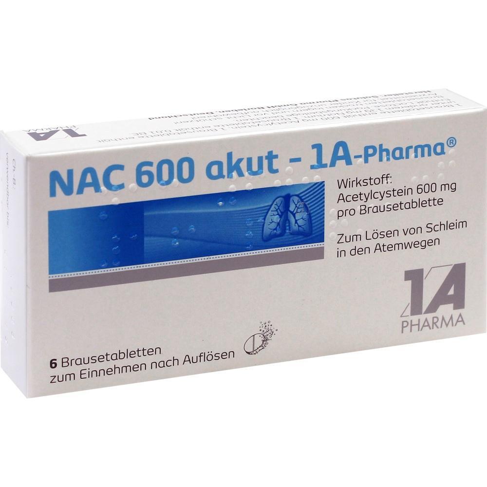 00562749, NAC 600 akut-1A-PHARMA, 6 ST
