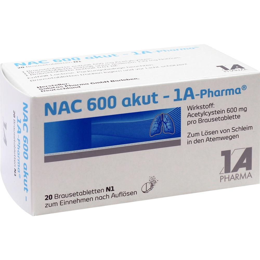 00562761, NAC 600 akut-1A-PHARMA, 20 ST