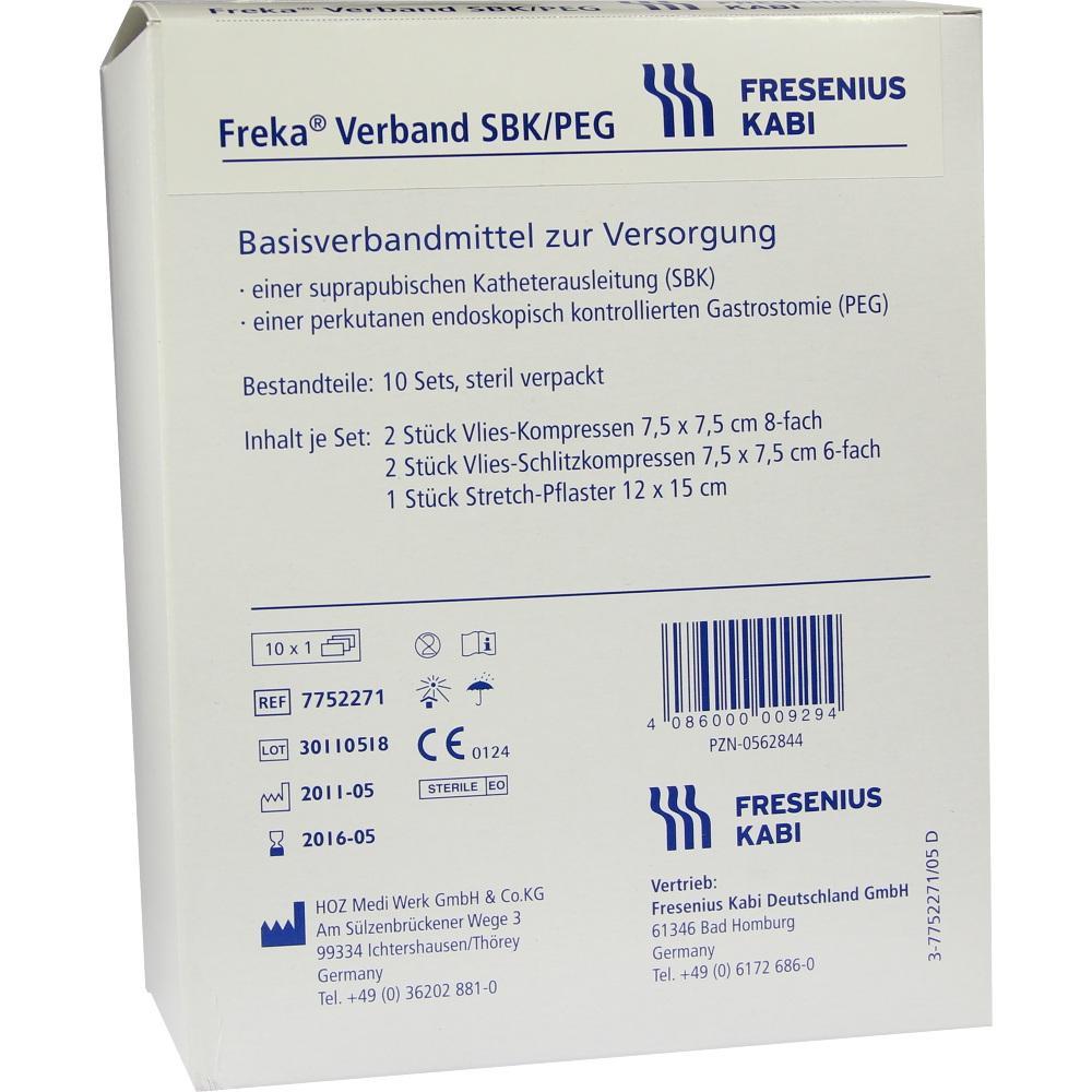 FREKA VERBAND SBK/PEG