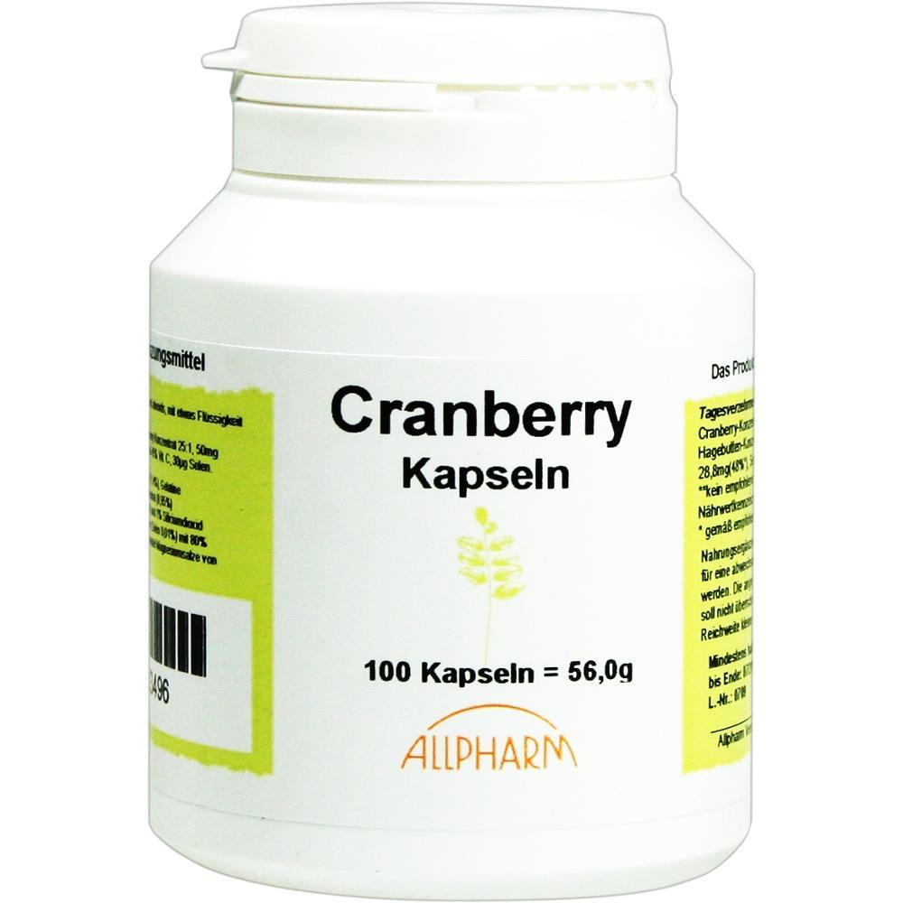 00583496, Cranberry Kapseln, 100 ST