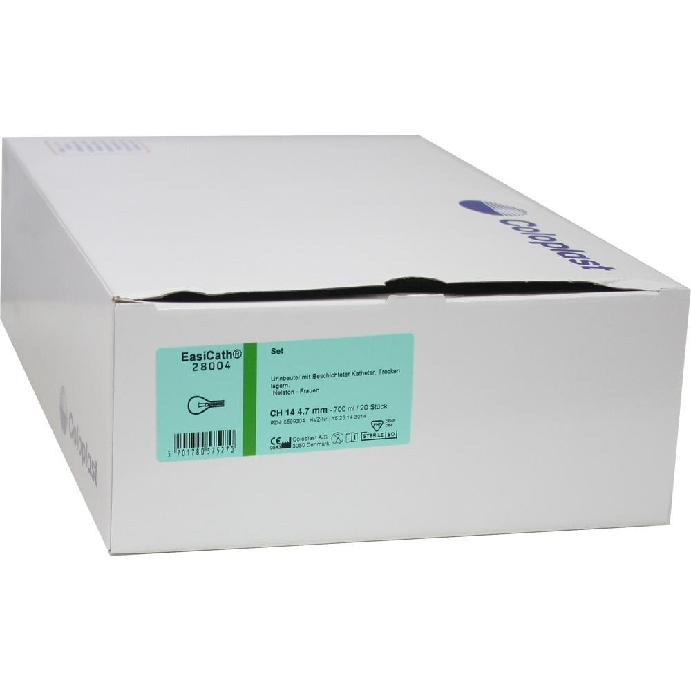 EASICATH Set Nelaton Ch 14 28004 Frauen 700 ml