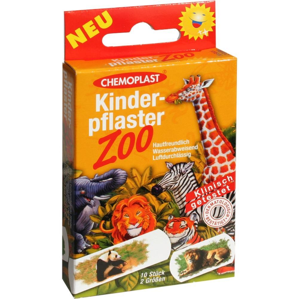 00610709, Kinderpflaster Zoo 2 Grössen, 10 ST