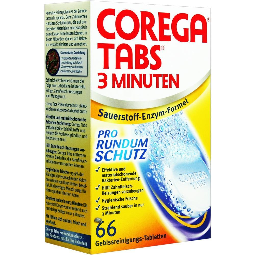 00644921, COREGA Tabs 3 Minuten, 66 ST