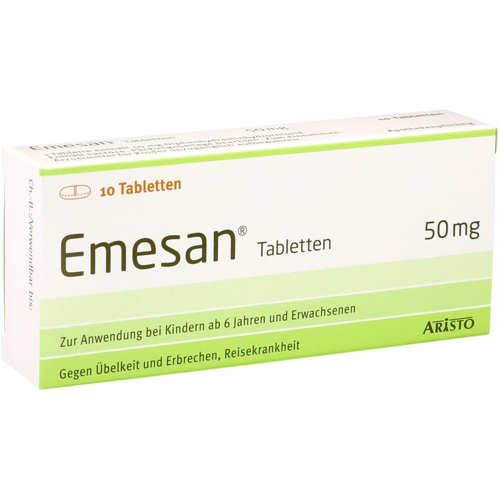 00651708, Emesan Tabletten, 10 ST