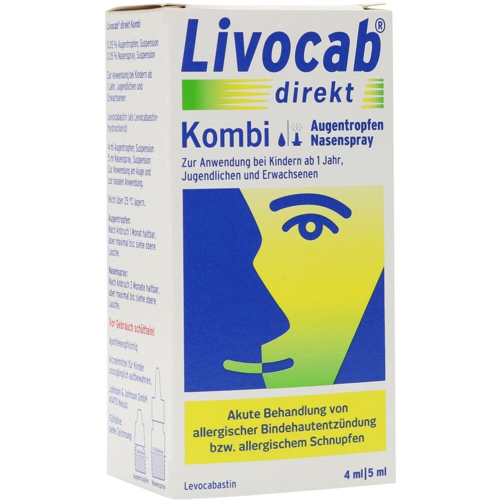 00676789, Livocab direkt Kombi 4ml AT + 5ml NS, 1 P