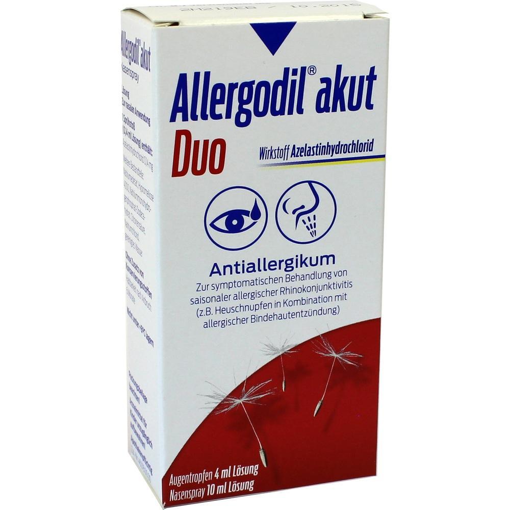 00694793, Allergodil akut Duo 4ml AT akut / 10ml NS akut, 1 ST
