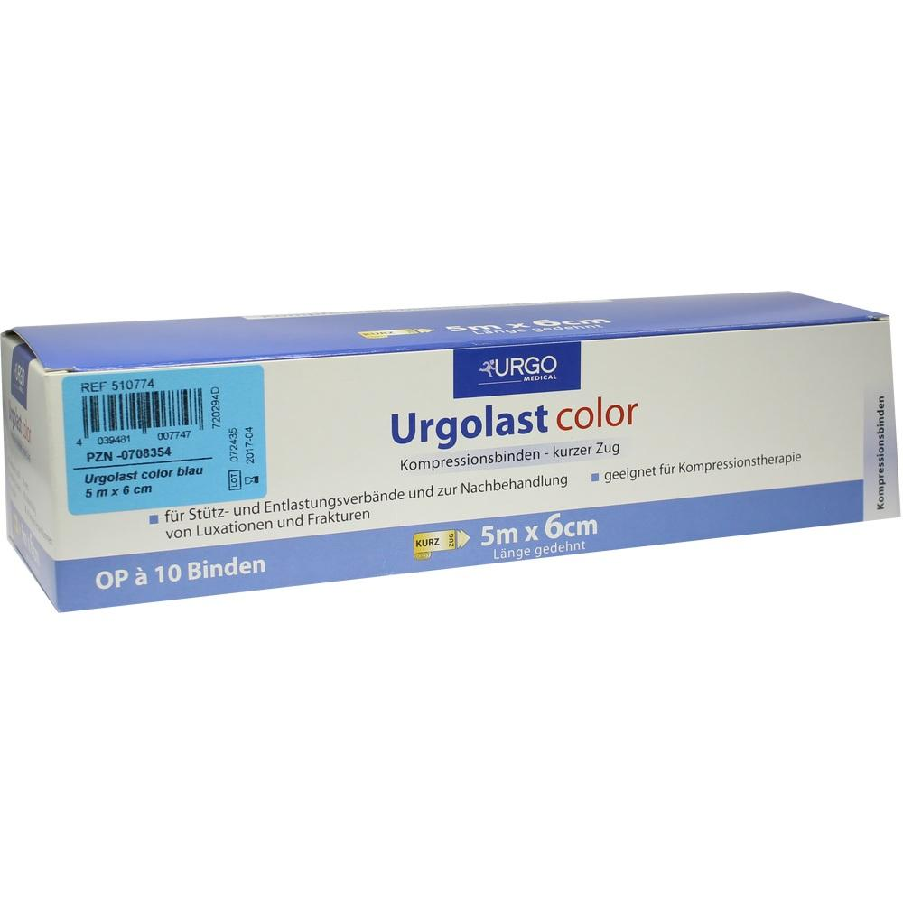 URGOLAST Color Binde 6 cmx5 m blau