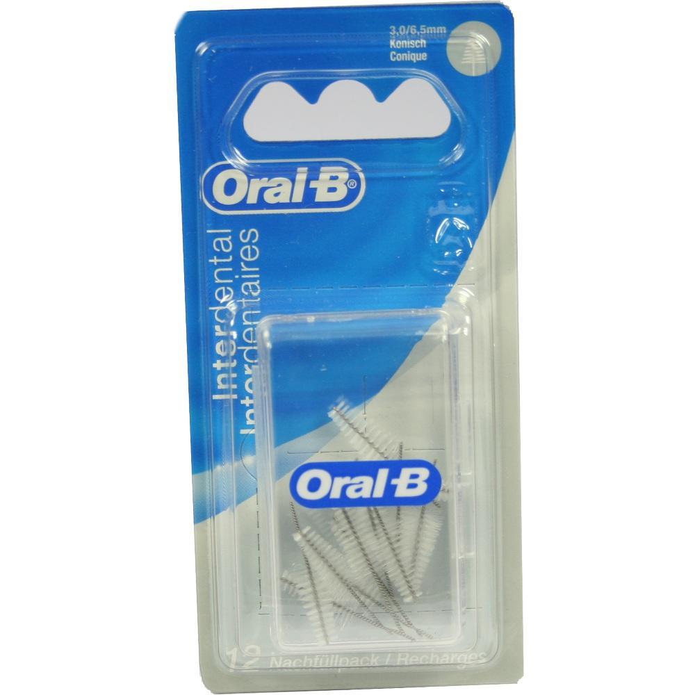 00712976, Oral-B ID Nachfüllpack Konisch Fein 3-6.5mm, 12 ST