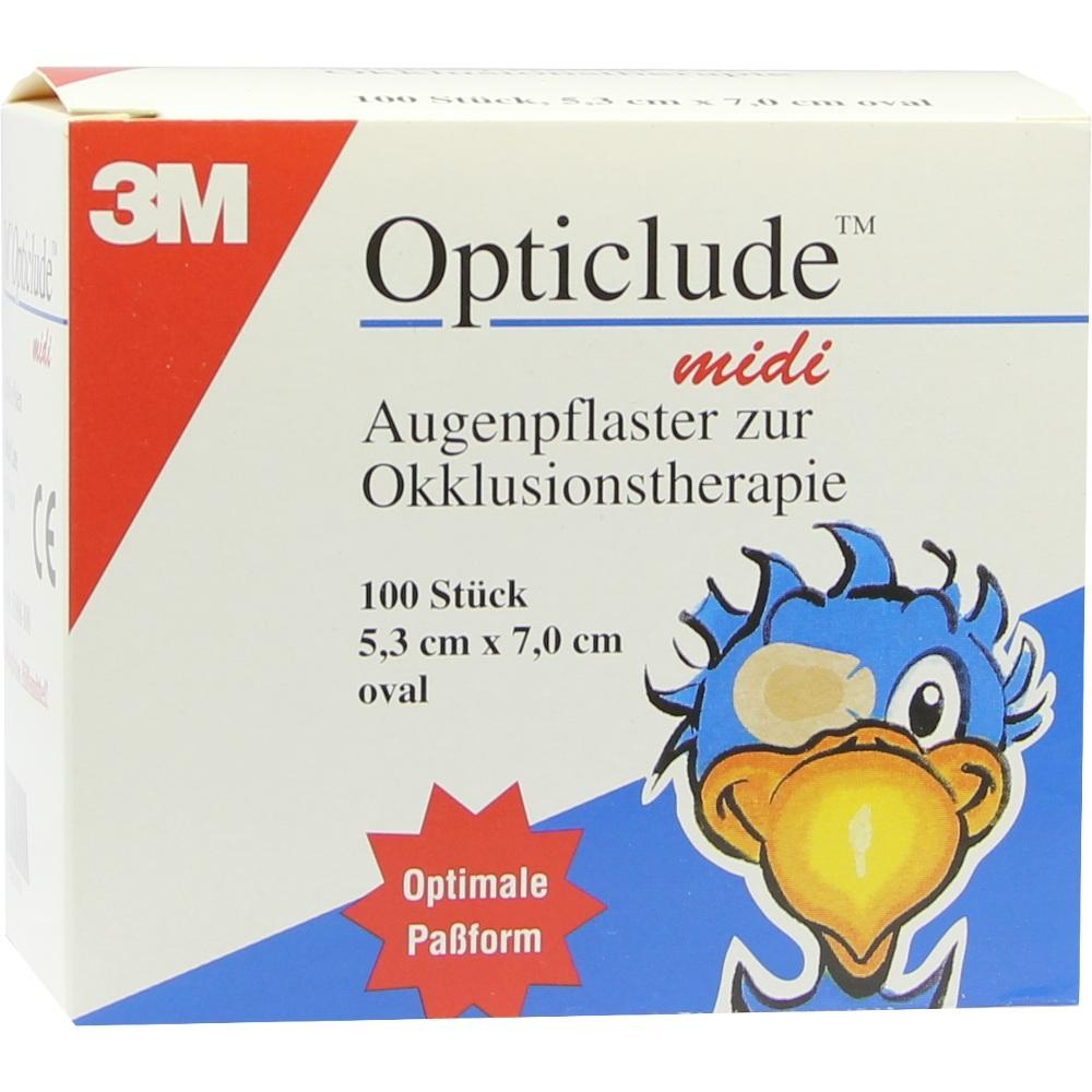 00747124, Opticlude 3M MIDI 1538/100, 100 ST